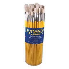 Dynasty B-1400 Canister Series Flat Brush Assortment