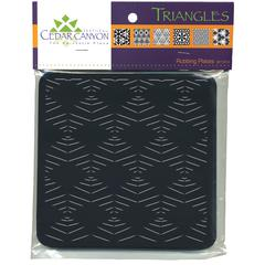 Triangles Rubbing Plate Set