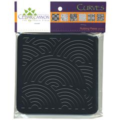Cedar Canyon Textiles Curves Rubbing Plate Set