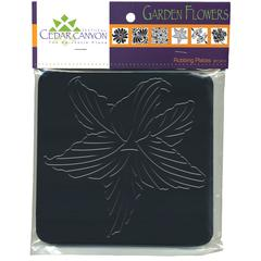 Garden Flowers Rubbing Plate Set