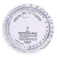 "C-Thru 5"" Proportional Scale"