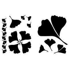 Ginkgo Leaf Stencils