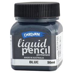 Derivan 50ml Permanent Blue Liquid Pencil