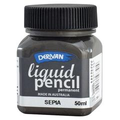 50ml Permanent Sepia Liquid Pencil