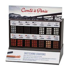 Conté Classic Colors Pastel Crayon Display Assortment