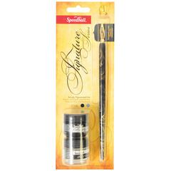 Speedball Pen Holder Nib Ink & Pen Cleaner Set