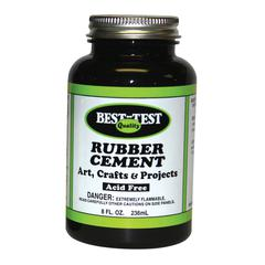 Best-Test Rubber Cement 8oz