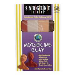 Non-Hardening Modeling Clay Skintones 4-Pack
