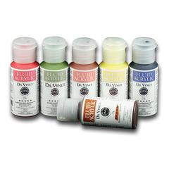 Fluid Acrylic Paint 6-Color Favorites Set