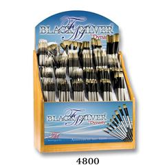 Blended Synthetic Oil and Acrylic Brush Display Assortment