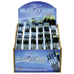 Blended Synthetic Watercolor Brush Display Assortment