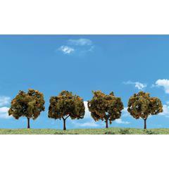 Woodland Scenics 4-Pack Orange Trees
