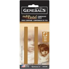 General's Compressed Sticks Sienna