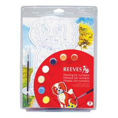 Color & Shape Painting by Number Dog Set