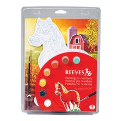 Color & Shape Painting by Number Horse Set