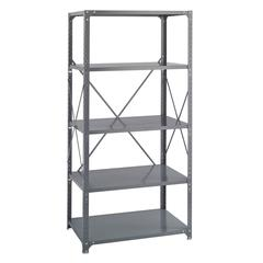 "Safco Heavy-Duty Commercial Steel Shelving 24"" Deep"