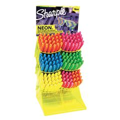 Sharpie Neon Permanent Marker 144-Piece Counter Display