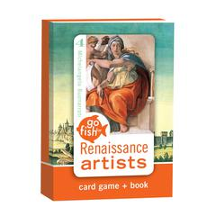 Birdcage Press Go Fish for Renaissance Artists Go Fish Card Game