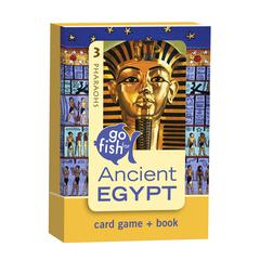 Birdcage Press Go Fish for Ancient Egypt Go Fish Card Game