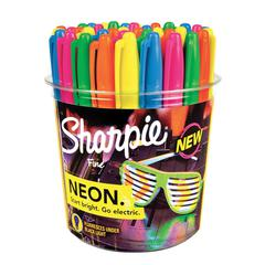 Neon Permanent Marker 36-Piece Display