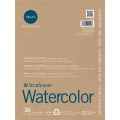 "Strathmore 200 Series Skills 9"" x 12"" Tape Bound Watercolor Pad"