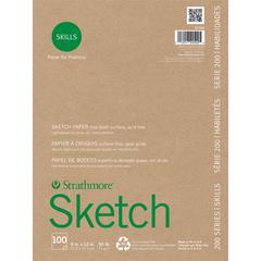 "Strathmore 200 Series Skills 9"" x 12"" Glue Bound Sketch Pad"