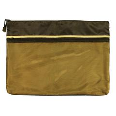 "12"" x 16"" Dual Zippered Pocket Fabric Mesh Bag"
