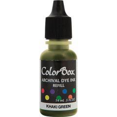 ColorBox Archival Dye Refill Khaki Green