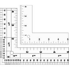 """24"""" Standard Aluminum L-Square"""