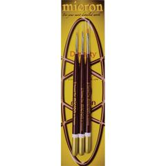 Dynasty Micron Synthetic All Media Detail Brush Set Filbert