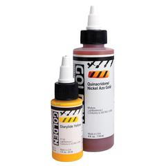 Golden High Flow Acrylic Quinacridone/Nickel Azo Gold 4oz.