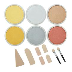 Ultra Soft Artists' Painting Pastel Metallics 6-Color Set