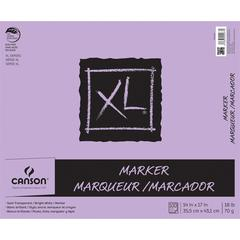 "Canson XL 14"" x 17"" Glue Bound Marker Pad 100-Sheet"