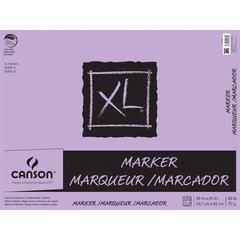 "Canson XL 19"" x 24"" Glue Bound Marker Pad 50-Sheet"