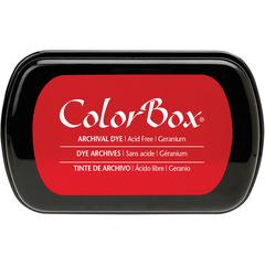 Full Size Archival Dye Ink Pad Geranium