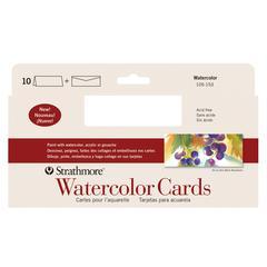Strathmore SLIM SIZE WATERCOLOR CARD 10PK