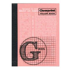 "Clearprint Vellum Gridded Sketchbook 3"" x 4"""