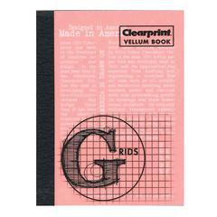 """Vellum Gridded Sketchbook 3"""" x 4"""""""