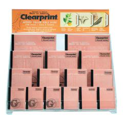 Clearprint Vellum Design and Sketchbooks Display and Assortment