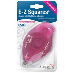 Scrapbook Adhesives E-Z Runner EZ SQUARES REFILLABLE 650tabs