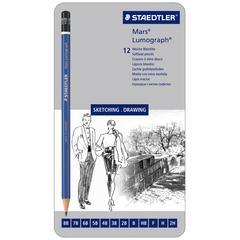 Lumograph Drawing Pencil 12-Pack