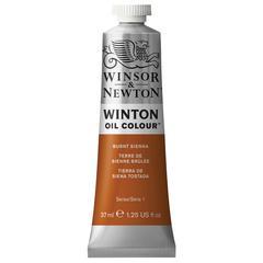 Winsor & Newton Winton Oil Color 37ml Burnt Sienna
