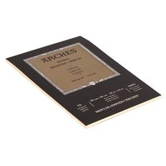 "Canson Arches 10"" x 14"" Traditional Cream 16-Sheet Drawing Pad"