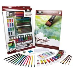 Royal & Langnickel Essentials Deluxe Watercolor Mixed Media Art Set