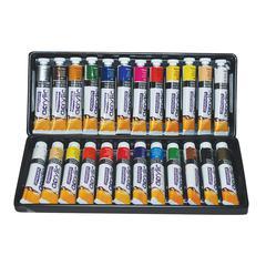Daler-Rowney Graduate Graduate Acrylic Paint 24-Color 22ml Set