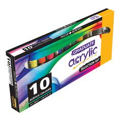 Graduate Acrylic Paint 10-Color 38ml Introductory Set
