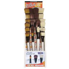 Daler-Rowney Simply Simmons All Media Brush Display Assortment