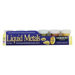 Sargent Art Liquid Metals Acrylic Paint Set