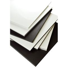 "Black 24"" x 36"" Polystyrene Foam Boards"
