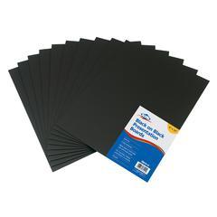 "Black on Black Presentation Boards 8"" x 10"""